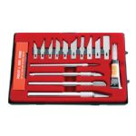17 Piece Hobby Knife Set